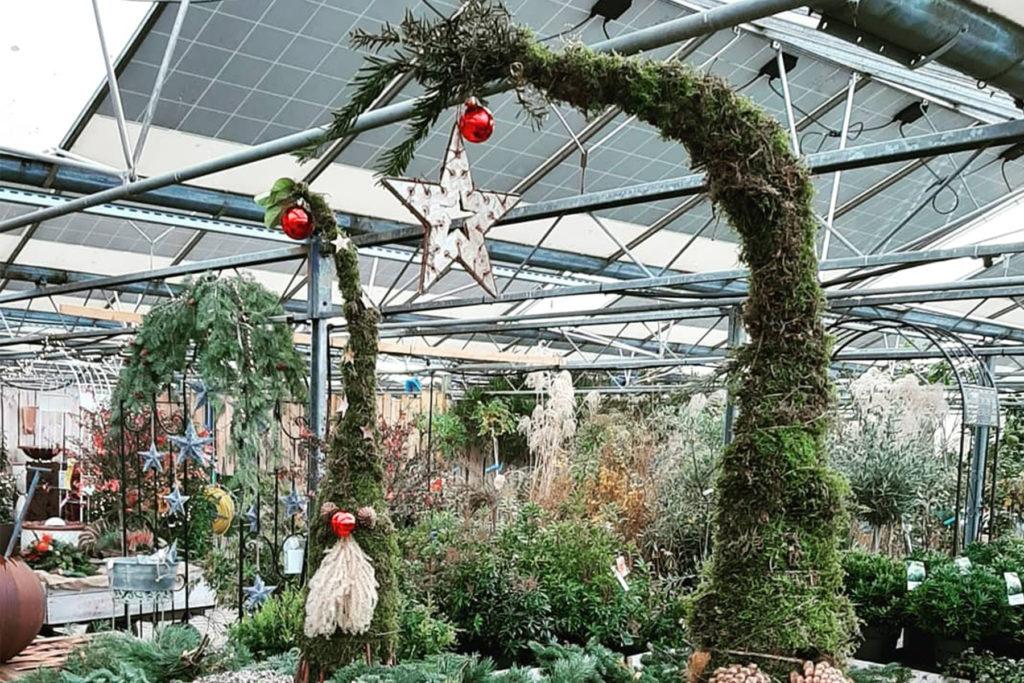 Adventsschmuck Garten